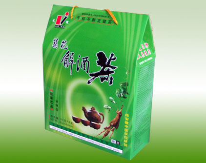 葛花解酒茶