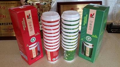 龙健印象地理系列红茶杯茶礼盒装